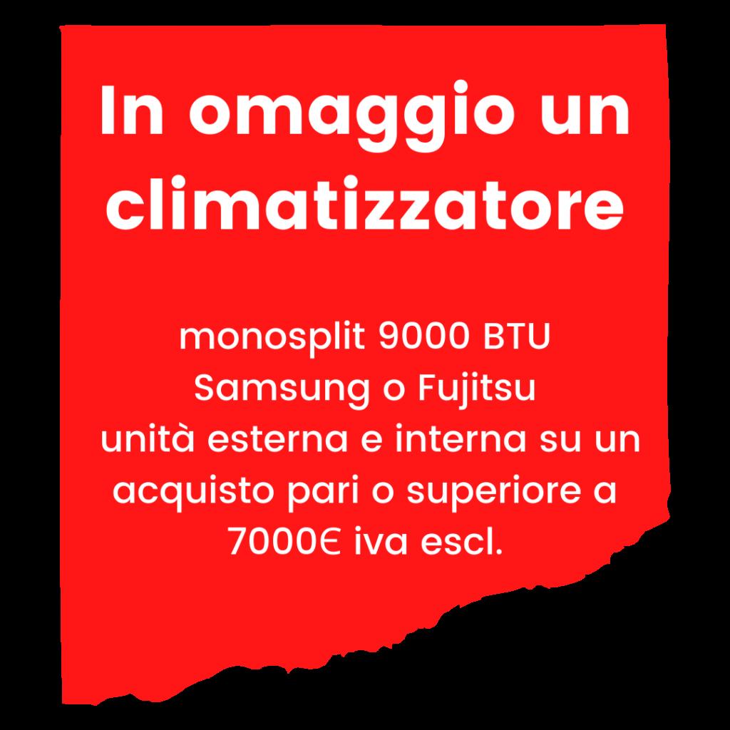 Sirt Torino - In omaggio un climatizzatore 1