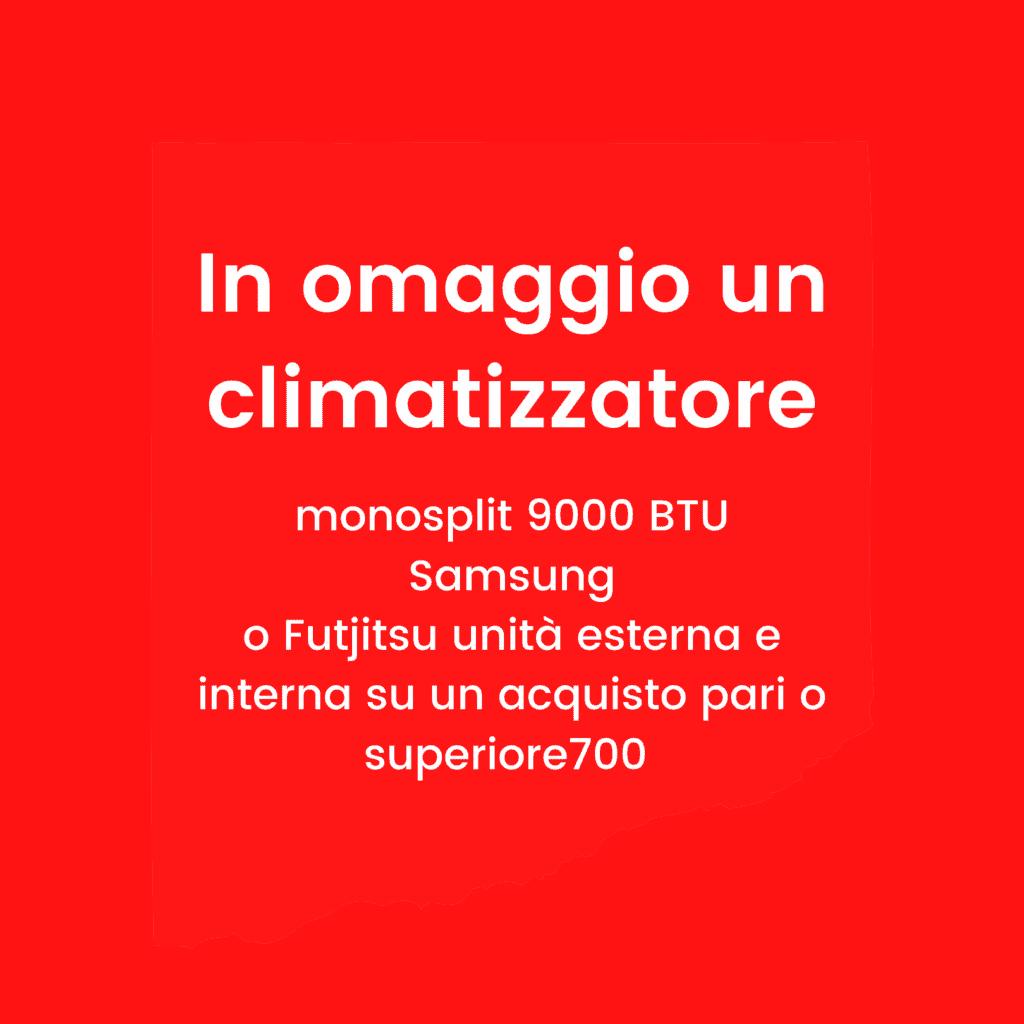 Sirt Torino - In omaggio un climatizzatore